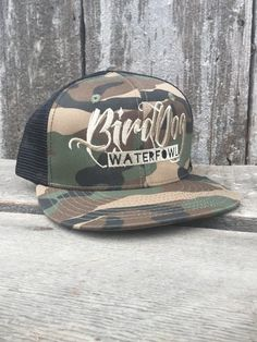 Bird Dog Waterfowl Black Mesh Classic Camo Snapback with Tan Camo Hats 8c8dcd7e870