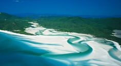 Whitehaven Beach in the Whitsunday's, QLD. This is a seriously stunning place.