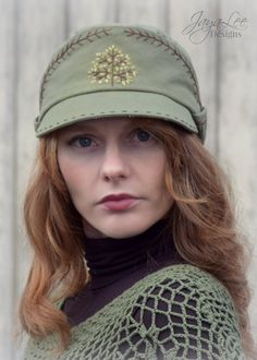 Star Wars Inspire Imperial Oak Hat. This unique hat was inspired by the caps worn by the Imperial Officers in the original trilogy.