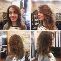 Mechas californianas + corte y peinado - Ombre highlights - balayage + cut and blow dry by Onda Salon Team and the Director Piero Zattera. #mechas #mechascalifornianas #corteypeinado #ombrehighlights #balayage #balayagehaircolor #cutandblowdry #pierozattera #peluqueriabarcelona #peluqueriabarceloneta #barcelona #barceloneta #ondasalon