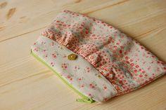 pretyy flower garden pouch | kAt | Flickr