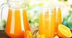 Лимонад из замороженных апельсинов в домашних условиях рецепт фото