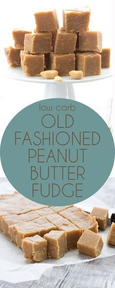 Simply the best low carb peanut butter fudge recipe around. No cream cheese! A peanut butter lover's dream. LCHF Banting Keto Atkins Recipe. via @dreamaboutfood