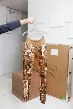 copper pants.
