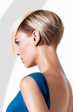10.Half Shaved Pixie Cut