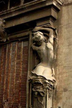 Hôtel Chappaz ~ Béziers ~ France ~ by Jean-Antoine Injalbert