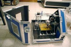 Flightcase for that 3D printer? Yes please!