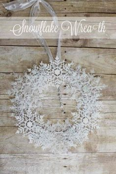 Day 4 - Quick and Easy Holiday Crafts from Craft Lightning ~ * THE COUNTRY CHIC COTTAGE (DIY, Home Decor, Crafts, Farmhouse)