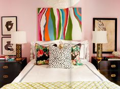 grown-up girly. i LOVE this bedroom