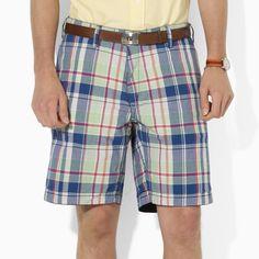 Polo Ralph Lauren Reversible Madras Short #VonMaur