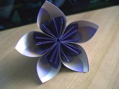 Replay: Visual Instructions for Origami Paper Flowers