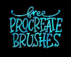 Check out these free Procreate brushes for hand lettering and design. Up your digital hand lettering 101 game today with these free procreate brushes. Hand Lettering 101, Brush Lettering, Script Lettering, Best Procreate Brushes, Ipad Art, Illustrations, Free Brushes, Digital Art, Digital Journal