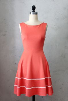 gone to Laura's!--- I love this, but haven't worn it... would only swap for something seriously awesome! size XL---- Coquette Dress in Coral - Fleet Collection