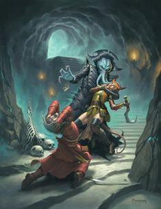 Illithid / Mind Flayer - Aberration -- DnD Monsters #DungeonCrawling #DnD #Monsters #Aberration #Illithid #MindFlayer #Inspiration #Magic #Fantasy #JRusso Dark Fantasy, Fantasy Rpg, Medieval Fantasy, Fantasy Artwork, Fantasy World, Fantasy Inspiration, Character Inspiration, Character Art, Dragon Rpg