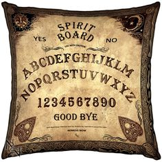 Spirit Board Cushion