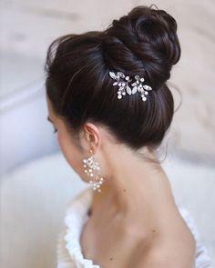 Wedding Updos Ultimate Guide - Most Trendy Ideas For 2021/2022 ❤ wedding updos elegant sleek high ballet bun hair_vera #weddingforward #wedding #bride #weddinghair #weddingupdos #bridalhair