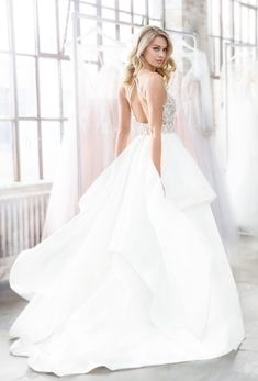 Wedding Dress Inspiration - Blush by Hayley Paige from JLM Couture