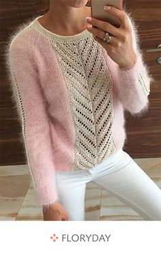New knitting patterns mohair scarfs 24 Ideas Mode Crochet, Knit Crochet, Knit Fashion, Fashion Outfits, Womens Fashion, Knitting Designs, Crochet Clothes, Pulls, Baby Knitting