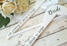 Check out this item in my Etsy shop https://www.etsy.com/uk/listing/241319145/wedding-dress-hangers-coat-hangers