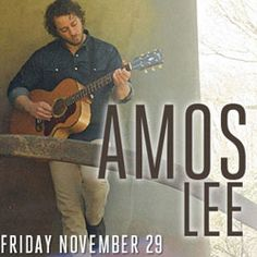 Amos Lee is coming to #Atlanta on November 29, 2013! See him live! #folk #rock #soul