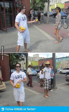 When life gives you lemons...