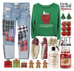 """Gift Guide:Work BFF"" by grozdana-v ❤ liked on Polyvore featuring MANGO, Dearfoams, Yankee Candle, philosophy and giftguide"