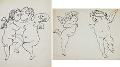 Image result for andy warhol drawings and illustrations of the 1950s