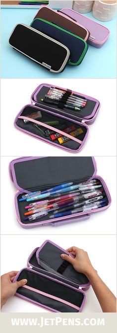 Carry all your essentials in the Raymay Topliner Pen Case!