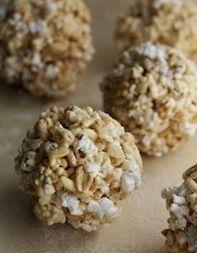 Maple-Cider Popcorn Balls