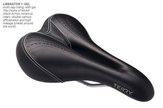 Men's Touring Bicycle Saddles: Most Comfortable Bike Seats for Men | Terry Bicycles