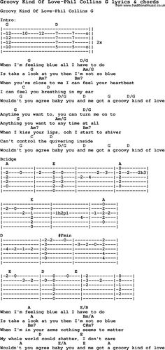 Love song: Groovy Kind Of Love-Phil Collins G With Chords and Lyrics, For ukulele, guitar, banjo and other instruments. Guitar Songs For Beginners, Basic Guitar Lessons, Guitar Chords Beginner, Easy Guitar Songs, Music Chords, Lyrics And Chords, Ukulele Songs, Ukulele Chords, Love Songs Lyrics