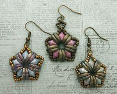 Pattern Review - Star Earrings                                                                                                                                                                                 More