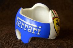 Ferrari Side view Cranial band/DOC band/helmet  https://www.facebook.com/pages/Cranial-BandsMurals-by-Leigh-Gibson/153150921414230
