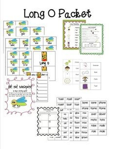 This packet can be used to help teacher the long o sound. It includes 3 games/centers and 2 long o work sheets!Roll, Read, Keep! Long O edition...