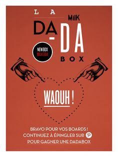 WAHOU ! bravo à tous les épingleurs DADABOX ! WOW, thanks to all the DADABOX pinners, continue to pin and try to win a DADABOX !
