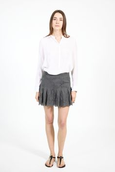 James Vintage Skirt Grey by Zadig & Voltaire