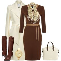 outfit 1490 by natalyag on Polyvore featuring Lauren Ralph Lauren, Reiss, Burberry, Brahmin and Michael Kors