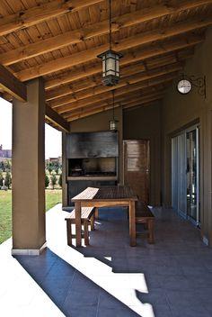 Outdoor Dining, Outdoor Decor, Backyard Patio Designs, Country Style, My Dream Home, Porches, Ideas Para, Pergola, Loft