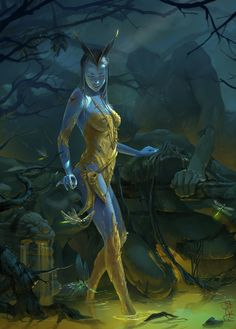 ArtStation - the Yellow land, Fariba Khamseh