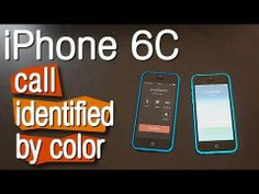 ▶ iPHONE 6c - NEW FEATURES - CALL IDENTIFIED BY COLOR - YouTube