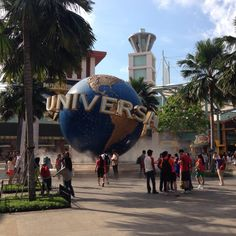 Universal studio Singapore :)