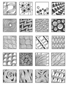 ZENTANGLE PATTERNS noncat 13 | Flickr - Photo Sharing! #Christmas #thanksgiving #Holiday #quote