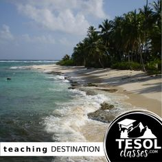 Since Colombia is a popular place to be an ESL teacher, many teachers enjoy visiting San Andres island on their day off.