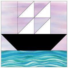 Make Ships at Sea Quilt Blocks