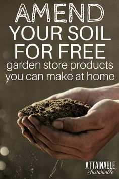 Rethink your garden store purchases. Instead of buying organic soil at the nursery, you might be able to make some of what you need right at home, and save money, too! #gardening #homestead