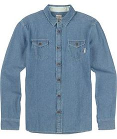 Burton Willow Flannel. FREE shipping on orders over $50.Unleash your inner beatnik with this classic flannel from Burton. Featuring an all cotton build and timeless button down cut, pair it with ju... Burton Shirts, Beatnik, Denim Button Up, Button Up Shirts, Flannel, Button Downs, Pairs, Flannels