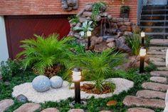 Decora Interi : Jardins Decorados com pedras