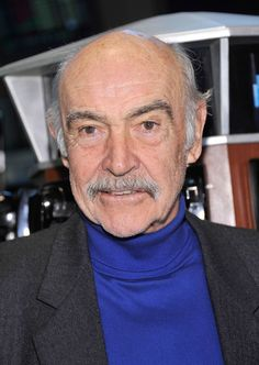 Sean Connery, presently in his 80's.