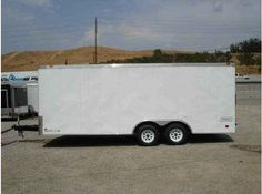 """2016 New Haulmark TSTV85X20WT2 Toy Hauler in California CA.Recreational Vehicle, rv, 2014 HAULMARK TSTV85X20WT2, THIS RACE TRAILER HAS A 36"""" FLUSH LOCK SIDE DOOR, TRANSPORT PKG., 2 12VOLT DOME LIGHTS W/SWITCH, 1 14""""X14"""" NON-PWR ROOF VENT, 4 5000LBS D-RINGS RECESSED IN FLOOR, 24"""" ATP STONEGUARD, 16"""" ON CENTERS WALLS, 24"""" ON CENTERS ON CEILING AND FLOOR , 1 PIECE ALUMINUM ROOF, ALL STEEL CONSTRUCTION, 3/8"""" PLYWOOD SIDE WALLS, 3/4"""" PLYWOOD FLOORING, 48"""" BEAVERTAIL, 7000LBS G.V.W.R., ALL WHEEL…"""