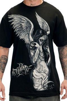 Big and Tall T-shirt Devil Girl Dés Rockabilly Design tee-shirt Pour Hommes bigmen